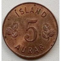 Исландия 5 эйре 1965