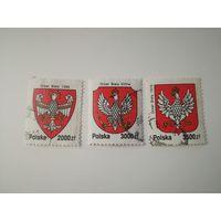 Польша 1992. История герба