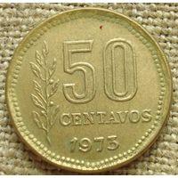 50 сентаво 1973 Аргентина