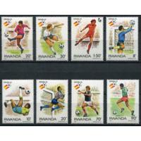 Руанда. 1982. Спорт. Футбол. Чемпионат мира в Испании