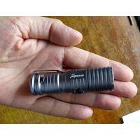Мини-фонарик Cree Q5, 4 режима (зум), 1x16340, металл