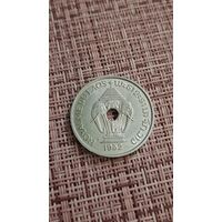 Лаос 20 центов 1952 г