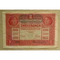 Австрия. 2 кроны 1917г.