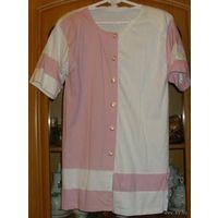Туника-рубашка летняя, р-р 44