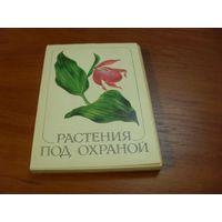 Набор открыток  Растения под охраной. 32шт с описанием
