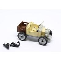 Машина LEGO, минифигурка Индианы Джонса и два скорпиона из серии Индиана Джонс