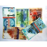 Казахстан Копии-шутки циркуляционных банкнот 5 штук