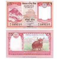 Непал 5 рупий образца 2017 года UNC