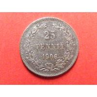 25 пенни 1906 года L