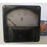 Вольтметр 0-50 V