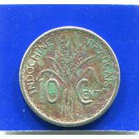 Французский Индокитай 10 центов 1941