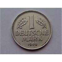 Германия 1 марка 1969 D