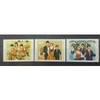 Лихтенштейн национальные костюмы праздники 1980