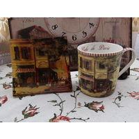 Кружка Пепельница (или тарелочка) В одном рисунке Gift N Home Италия