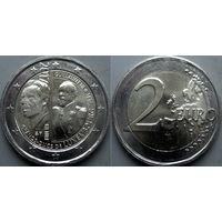 Люксембург, 2 евро 2017 200 лет со дня рождения Великого Герцога Люксембурга Виллема III. UNC.