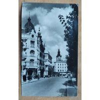 Львов. Академическая улица. 1950-е. Чистая