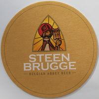 Подставка под пиво Steen Brugge /Бельгия/-1