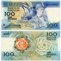 Португалия. 100 эскудо (образца 1987.12.03 года, P179d, подпись 5, UNC)