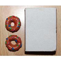 Пончики для кукол (еда, продукты, сладости)