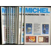 Michel Rundschau. Годовой комплект 12 номеров за 1996