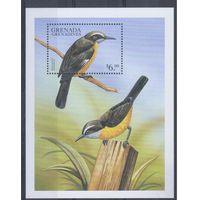 [1258] Гренада Гренадины 1999. Фауна.Птицы. БЛОК.