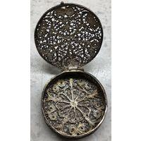 Шкатулка для украшений / драгоценностей ажурная металлическая Ближний Восток