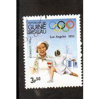 Гвинея-Биссау.Фехтование.Олимпийски е игры.Лос-Анджелес.1984.