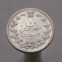 Иран 5000 динаров 1903 СЕРЕБРО !СОСТОЯНИЕ!
