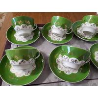 Чайные пары Рига 6 шт