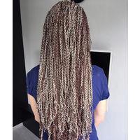Канекалон комплект волос для плетения афрокос зизи гофре