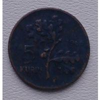 Турция 5 куруш 1966