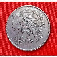 36-05 Тринидад и Тобаго, 25 центов 1979 г.