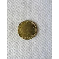 1 песета 1980 (82) Испания КМ# 816 алюминиевая бронза