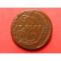 Денга 1771 года ЕМ