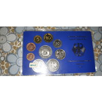 Набор монет Германия 1978 год