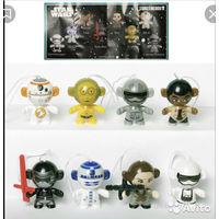 Серия игрушек из киндера звёздные воины