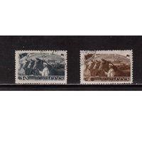 СССР-1948, (Заг.1194,1196)  гаш., Животноводство