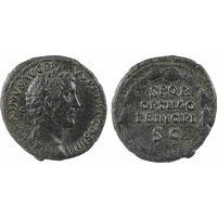 Римская империя, Антонин Пий, 138-161 гг., асс, SPQR/OPTIMO/PRINCIPI.