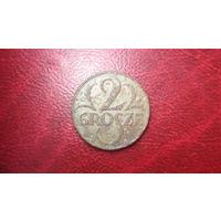 2 гроша 1925 год Польша