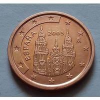 2 евроцента, Испания 2005 г., AU