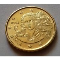 10 евроцентов, Италия 2006 г.