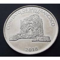 Панама. 1\2 бальбоа 2018 Последний аукцион 2019