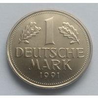 Федеративная Республика Германия, 1 марка 1991 год.