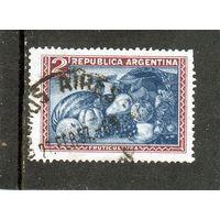 Аргентина.Ми-428.Фрукты.Серия:Продукты страны.1949.