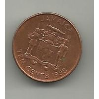 10 цент Ямайка