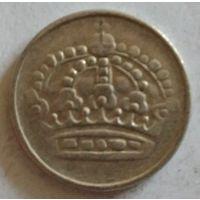 Швеция 25 эре 1961 серебро