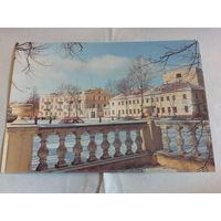 Почтовая карточка 1992 гродно рлощадь тизенгауза