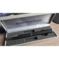 Лазерная указка Green Laser Pointer с насадкой