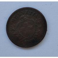 Швейцария 1 раппен, 1905 7-5-27