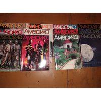 Америка 1990г. Номера 398 - 409 (январь - декабрь 1990) + Журнал Информатика в жизни США